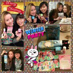聖誕姊妹聚會 - 每人送我一份禮物,多謝晒!(≧3≦)