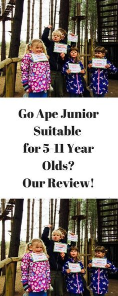 Go Ape Junior Tree Top Adventure www.minitravellers.co.uk I was impressed that the little ones, who could only go on if an adult went on with them, bravely stepped onto the platforms and off the zip wire, seemingly without hesitation. However there were
