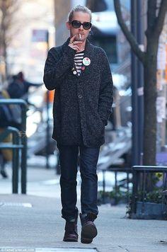 Roam alone too:Macaulay Culkin was alone, again, as he smoked a cigarette on Tuesday in N...