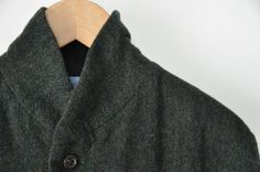 classico . nisica - tweed wool stand-collar coat