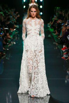 Elie Saab, Spring 2015 - Designer Wedding Dresses from Fashion Month - StyleBistro