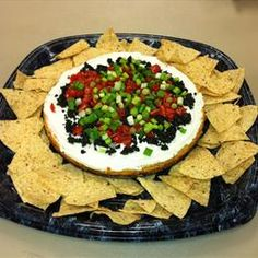 Mexican Cheesecake Appetizer