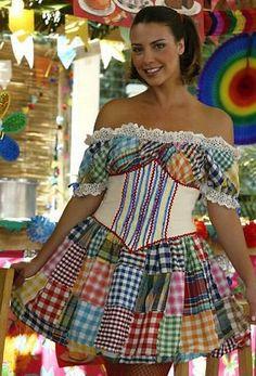 festa junina vestidos