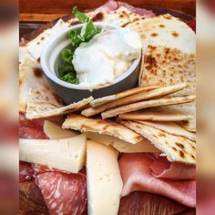 Is it piadina time yet? Busy work day ahead - could really go for a platter of local Emilia Romagna meats and cheeses, along with piadina from Rimini - Instagram by ourtastytravels