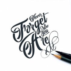 #Neverforget who you are, for surely the world will not. Make it your strength. Then it can never be your weakness. Shield  yourself in it, and it will never be used to hurt you.  #stayhuman  #type #typography #typoholic #design #art #mydubai #quote #creative  #love  #ilovetypography #handmadefont  #inabudhabi  #graphicdesign #graphic #inspiration #typedaily #goodtype  #typemark #strengthinletters #conceptual  #typespire #typearound  #wastetimewithtype #thedailytype #lettering #quoteoftheday…