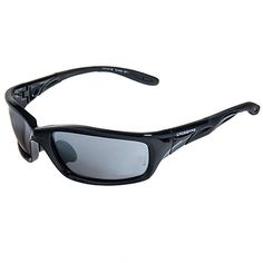 Crossfire Sunglasses: Men's Black 263 Mirror Lens Infinity ANSI Safety Sunglasses