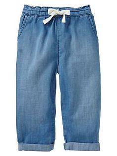 Chambray pants | Gap