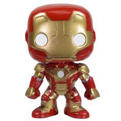 Figurine Iron Man (Iron Man 3) - Figurine Funko Pop http://figurinepop.com/iron-man-iron-man-3-funko