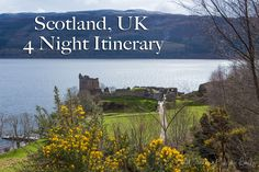 Scotland, UK 4 Night itinerary with costs! See castles, amazing scenery, distilleries, & more! Lots of 'off the beaten path' opportunities in this country! Adventures Abroad, Scotland Uk, Distillery, Day Trip, Castles, Scenery, Europe, Country, Night