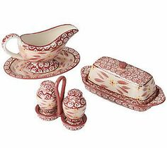 Temp-tations Old World 7-piece Table Accessory Set