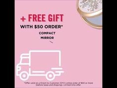 C21 Free Shipping + Free Gift Just Shop, Avon Online, Compact Mirror, Free Gifts, Free Shipping, Promotional Giveaways
