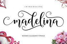 Madelina Script from FontBundles.net