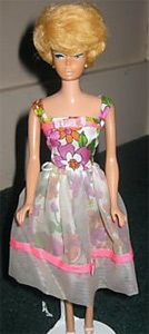 """Vintage Barbie - November 2008 ~ It is yet another Japanese market exclusive.  This is the Japanese version of Barbie's """"Lunch Date"""" dress.  This one was listed for $769.99 .... and sold for a """"Best Offer"""" of $550."""