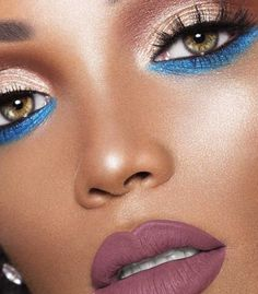 Dark Skin Tones   Here's How Jeffree Star's Androgyny Looks on Different Skin Tones, check it out at http://makeuptutorials.com/jeffree-star-androgyny/