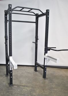 This power rack blends quality and value together in one of the most popular machines for strength training. Power racks are easy to use and provide a high level of safety to free weight lifters. You would have a hard time finding a gym anywhere without one.   The Revolution 311 series squat rack is affordable and perfect for anyone wanting a fully functional rack, this cage is made from heavy 11 gauge steel and will handle weights up to 800 lbs. 2'' spacing  between adjustments