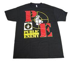 50a4ef6d Details about Vintage 90's Public Enemy Concert T-Shirt Apocalypse 1991 Hip  Hop Rap size S-5XL