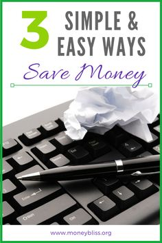 How to Save Money with simple, easy tips. Budget. Personal Finance. How to save living paycheck to paycheck, weekly, monthly.