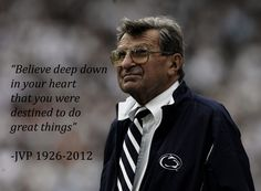 made it myself :) forever joe paterno <3