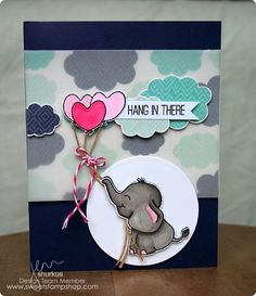 Sweet Stamp Shop - Elephant Hearts Available in Australia from www.dawnlewis.com.au