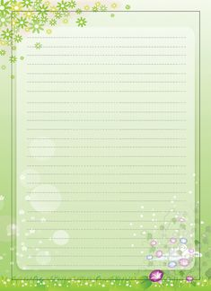 Free+Printable+Writing+Paper+with+Borders