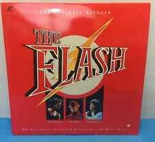 The Flash Laserdisc LD Feature Film DC Comics John Wesley Shipp Pilot