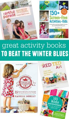 5 activity books packed with hands-on fun for kids!