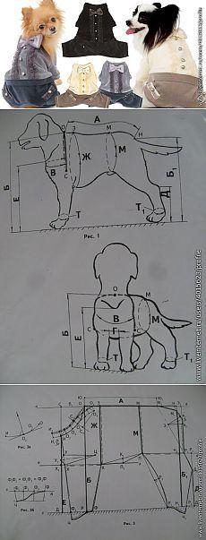 !Конструирование одежды для собак.