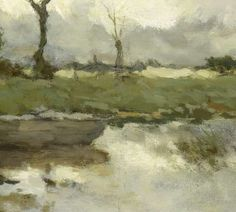 Herfstlandschap, Johan Hendrik Weissenbruch, ca. 1875 - ca. 1903 - Zoeken - Rijksmuseum