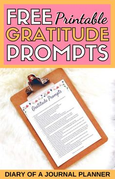 Express gratitude for the little things with these free printable gratitude prompts for a bullet journal or a gratitude journal! #gratitudejournal #freeprintables #bulletjournalprintables #gratitude #thankful Gratitude Journal Prompts, Journal Quotes, Bullet Journal Weight Loss Tracker, Weekly Planner Template, Journal Questions, Bullet Journal For Beginners, Bullet Journal Printables, Learning To Be, Bullet Journal Inspiration