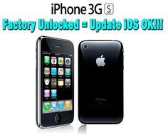 Apple iPhone 3GS 8GB Black Factory Unlocked / Not Jailbroken    Price:$239.99