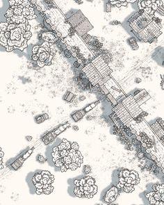 Fantasy City, Fantasy Map, Medieval Fantasy, Fantasy Heroes, Rpg World, Rpg Map, Mystical World, Drawn Art, Dungeon Maps
