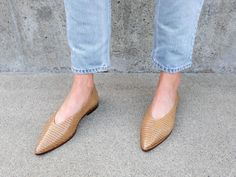 View all of Freda Salvador's collection of women's footwear. Elevated, timeless and slightly unconventional styles that ease into your everyday. Fillmore Street, Pointy Flats, Italian Leather, Salvador, Knee High Boots, Footwear, Lisa, Heels, Women's Shoes