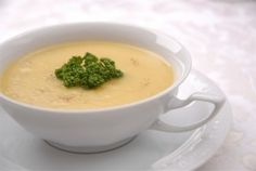 Cheese cream soup with spices – most common italian foods