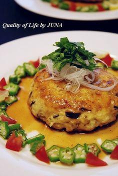 ダイエットに豆腐ハンバーグ|レシピブログ