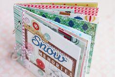 mini album from crate paper