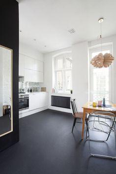 Small Apartment In Poznan, Poland Showcases Cool Scandinavian Minimalism