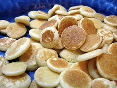 Baby cereal pancakes....so i can use up the million boxes of rice cereal I have in the pantry!