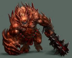 I so want to use this guy in one my RPG's. #RPG #creatures #monsters #villains #demon #demons #devils #devil #lowerplanes