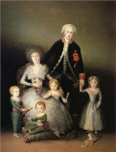 The Duke of Osuna and his Family by Francisco Goya, 1788. Museo del Prado, Madrid, Spain.