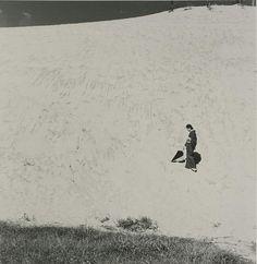 Shoji Ueda [植田 正治] My Wife in the Dunes, c. 1950