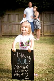 cute pregnancy announcement - in case this ever is needed!