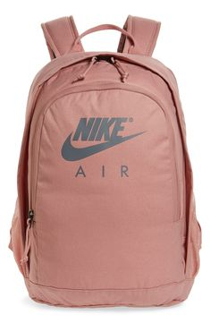 Men's Nike Hayward Air Backpack - Pink what to buy on if yoou search for the best quality and motivation bags, keep going on your goals if you want to see transformation in your life, my best store making by my self content generaly fashion Nike School Backpacks, Cute Backpacks For School, Trendy Backpacks, Girl Backpacks, Backpacks From Pink, Sports Backpacks, Leather Backpacks, Leather Bags, Backpack Bags