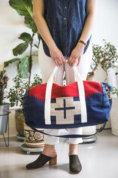 800c2aad0c1e A Dreamy Portside Travel Bag Set in Pendleton Wool