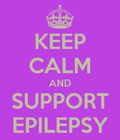 Epilepsy Awareness!! [Pinned from the social network for people living with #epilepsy: MyEpilepsyTeam.com. Join now!] #epilepsyawareness