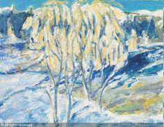 SALLINEN Tyko Konstantin - Paysage de neige