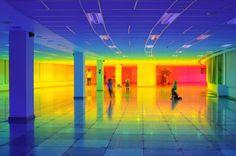 An Immersive Rainbow Light Installation | iGNANT.com