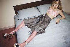 Amanda Seyfried in Prada photographed by Emma Summerton for Vogue Australia, February 2017.