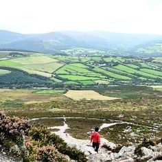 """""""Everyday of our lives we make deposits in our childrens memory bank""""- Charles R.Swindoll The view from the top of the Sugar loaf Mountain Our Life, Qoutes, Ireland, Golf Courses, Mountain, Sugar, Instagram Posts, Top, Travel"""