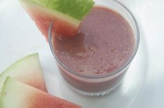 Watermelon, Basil, and Coconut Smoothie, Wholeliving.com