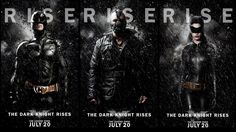 New TDKR character posters!